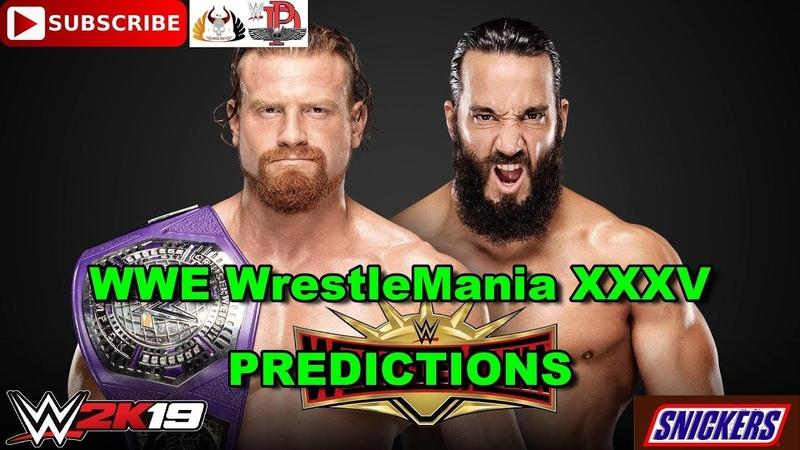 WWE WrestleMania 35 Cruiserweight Championship Buddy Murphy vs Tony Nese Predictions WWE 2K19