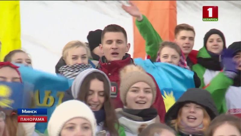 Всебелорусская студенческая лыжня объединила полтысячи участников Панорама