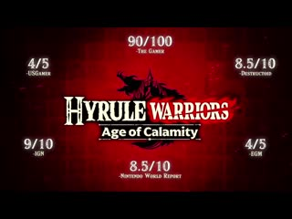 Hyrule Warriors_ Age of Calamity – Accolades Trailer – Nintendo Switch