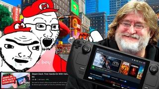 Steam Deck - Nintendo Switch больше НЕ НУЖНА | Портативка от Valve | Steam Deck vs Nintendo Switch