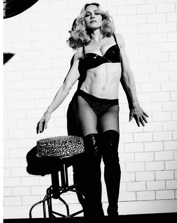 Мадонна в свои 61 может похвастаться потрясающей фигурой