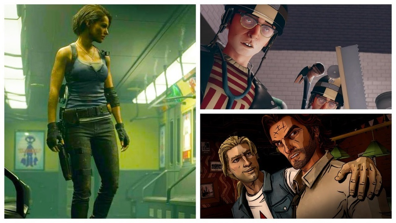 За неделю Xbox Series X ремейк Resident Evil 3 The Wolf Among Us 2 Surgeon Simulator 2 Godfall