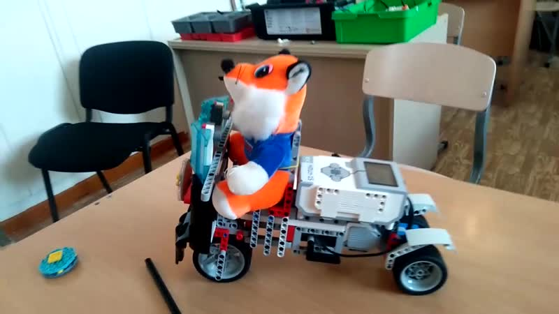 Управляемый лего мотоцикл своими руками