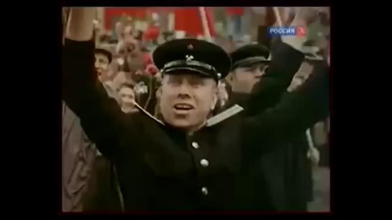 СССР Реальная жизнь простых людей после войны в цвете