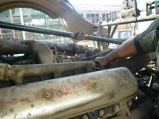 Работа ЯМЗ-238 на Авто МАЗ