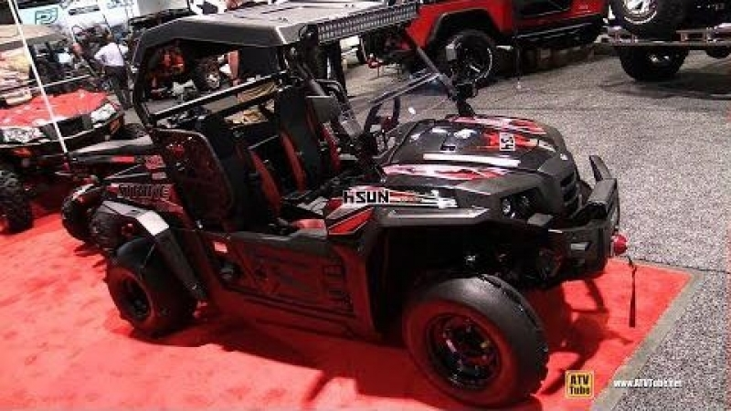 HiSun Strike 250 2018 Side by Side Walkaround 2017 SEMA Las Vegas
