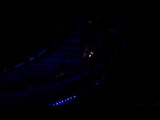 Возгорание на царемонии открытия НСК Олимпийский личная съемка