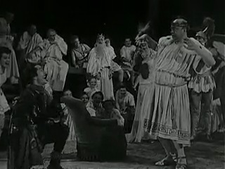 Orpheus in the Underworld directed by Felsenstein at the Komische Oper 1948