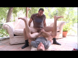 New! Exclusive! Men Hit and Run (Spencer Reed & Steven Daigle)