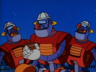 Kacsa mesék Rabló robotok