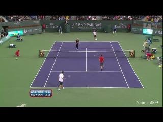 Благотворительный матч Федерер Сампрас Надаль Агасси
