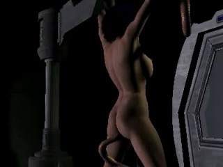 Svarog Sheena  Girl captive and raped by tentacles 3d