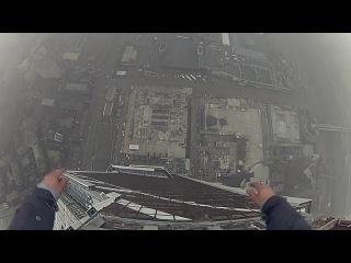 Как нелегально забраться на самое высокое здание в Европе