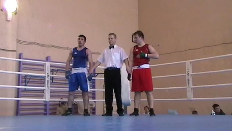 Турнир по боксу. г. Устюжна 2015. И.Батхиев - А. Столяров.4