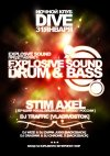 31.01 Explosive Sound of Drum'n'Bass - [Stim Axel (лучший D'n'B-Vocal проект России)] и [DJ Traffic]