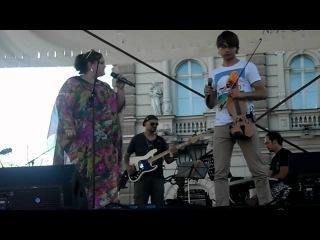 """Alexander Rybak & Bojana Stamenov - """"Something stupid"""" (rehearsal in Novi Sad)"""
