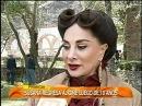Maite Perroni en grabaciones de la pelicula EL ARRIBO DE CONRADO SIERRA