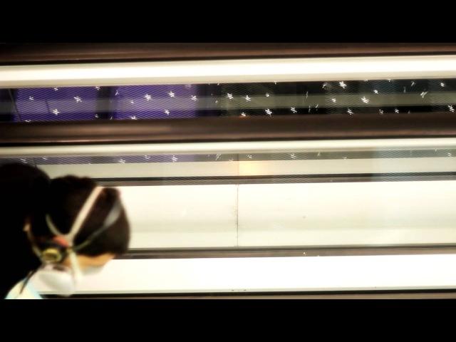 Dover D Graffity escalator WOW