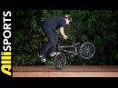 Mike Spinner's Tips to the Footjam Tailwhip, Alli Sports BMX Step By Step