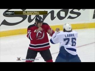 Pierre-Cedric Labrie vs Krys Barch Mar 5, 2013