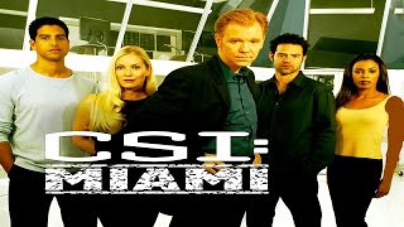 Место преступления Майами CSI Miami трейлер сериала