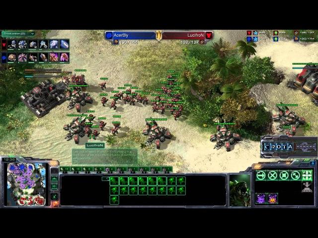 Lucifron T vs Bly Z G2 StarCraft 2 SC1849