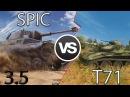 SpIc vs T71 Lets Play Обновление 3 5