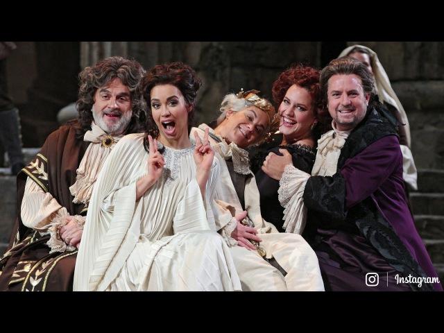 Matthew Polenzani and Nadine Sierra on Idomeneo