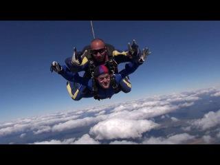Клево, но не так уж и страшно с парашютом прыгать