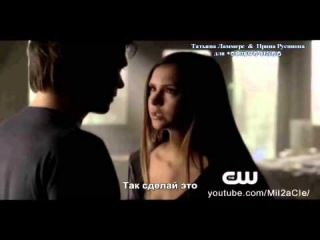 The Vampire Diaries Extended Promo -  - O Come, All Ye Faithful Mid-Season Finale ( РУС СУБ)