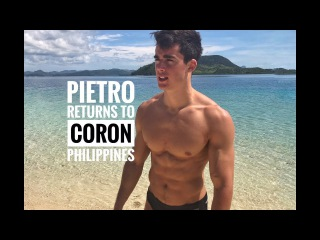 Pietro returns to Coron Philippines