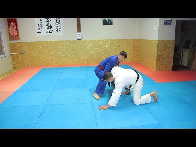 21 Уширо Куби Дзимэ Недзи Нуки Ushiro Kubi Jime Neji Nuki Освобожение от захвата за шею
