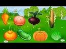 Учим слова фрукты и овощи - развивающий мультик для детей от 1 года до 3 лет
