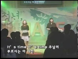[Выступление] 150405 Минзи выступает в церкви