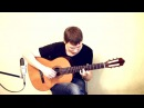 Mother Nature's Son (The Beatles) on the guitar