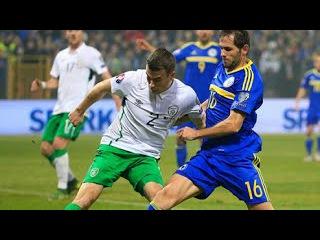Босния и Герцеговина - Ирландия 1-1 (13 ноября 2015 г, отборочный турнир Чемпионата Европы)
