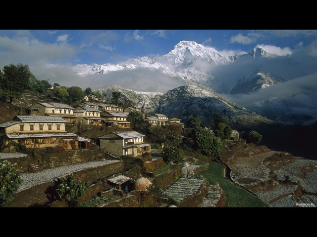 Новосибирск - Непал. Видео отчет о экспедиции на автомобилях Land Rover. 2005 г.