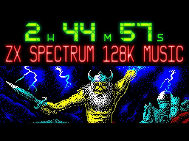 2 hours 45 minutes of ZX Spectrum 128K game music