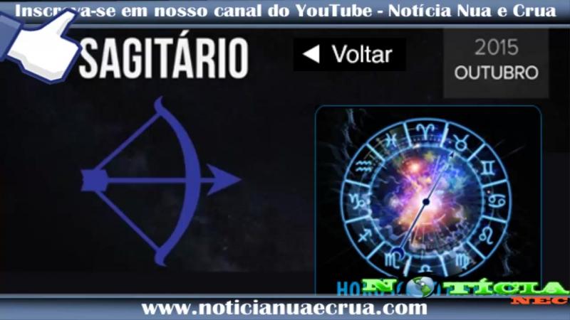Horóscopo mensal de Sagitário Outubro de 2015
