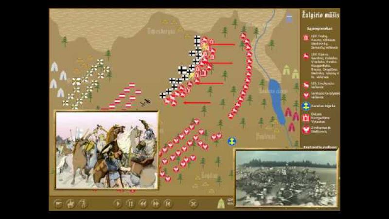 Žalgirio mūšis 1410 m Liepos 15 d antra dalis