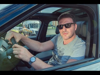 Актёр Максим Виторган возит Ксению Собчак на Range Rover Sport