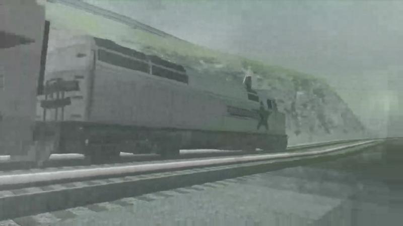 все что нужно було делать это ехать за поездом сиджэй