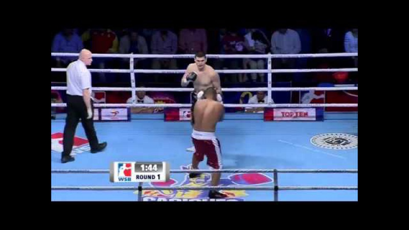 Filip Hrgovic vs Edgar Munoz World Series Boxing