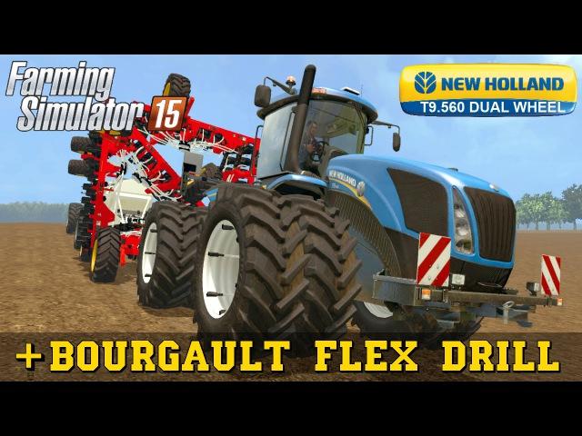 Farming Simulator 2015 NEW HOLLAND T9 560 DUAL WHEEL