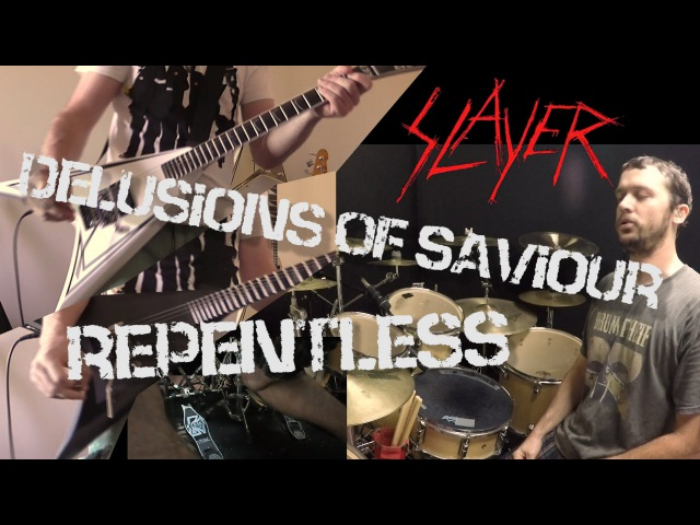 SLAYER - Repentless - Guitar Drum Cover
