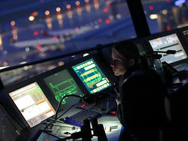 Поздравления с авиадиспетчером на борту
