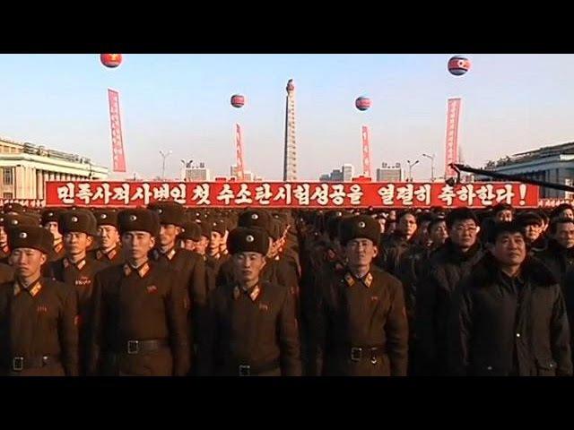 Televisão da Coreia do Norte divulga vídeo de alegados testes com bomba de hidrogénio