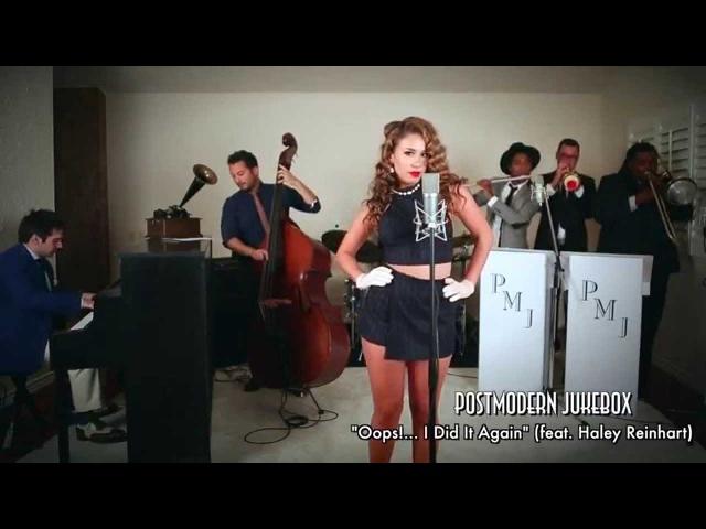 Oops I Did It Again Vintage Marilyn Monroe Style Britney Spears Cover ft Haley Reinhart