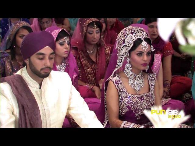 Sikh Wedding (Worlds Most watched Sikh Wedding, Videography by Punjab2000.com Cine5Dfilms.com)
