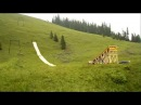 Slip and Fly Amazing Waterslide Jump